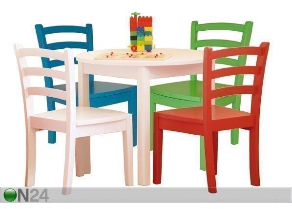 Ei Lasten Pöytä Ja Tuolit 2 Kpl