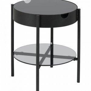 Ellos Albin Sohvapöytä Musta Ø 45 Cm