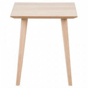 Ellos Allan Pikkupöytä Valkoinen 50x50 Cm