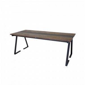 Ellos Brentwood Ruokapöytä Ruskea 90x200 Cm