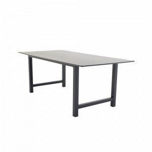 Ellos Canet Ruokapöytä Musta 100x220 Cm