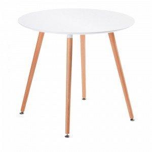 Ellos Daw Pöytä Valkoinen 100x73 Cm