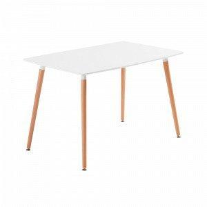 Ellos Daw Pöytä Valkoinen 120x75 Cm