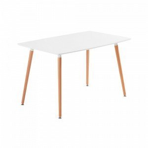 Ellos Daw Pöytä Valkoinen 140x80 Cm