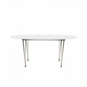 Ellos Henry Ruokapöytä Valkoinen 100x170-270 Cm