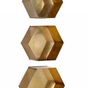 Ellos Hexagon Seinähyllyt 3 Kpl