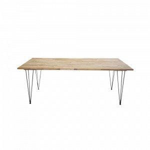 Ellos Jambi Ruokapöytä Luonnonvärinen 90x200 Cm