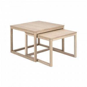 Ellos Julian Sarjapöydät Valkoinen 2-Osainen