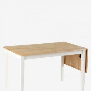 Ellos Klaffiruokapöytä 120x76 + 40 Cm