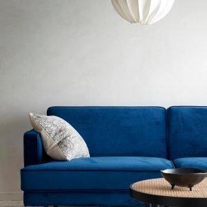 Ellos Larissa Sohva Samettia 3:N Istuttava Sininen