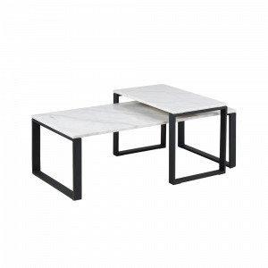 Ellos Lex Sohvapöydät 2-Osainen Valkoinen