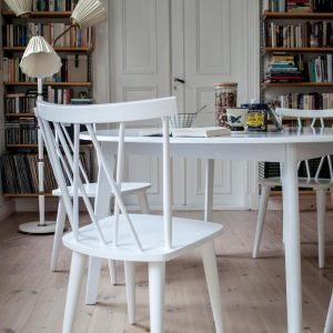Ellos Mariannelund Tuolit Valkoinen 2-Pakkaus
