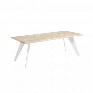 Ellos Nack Ruokapöytä Valkoinen 100x220 Cm