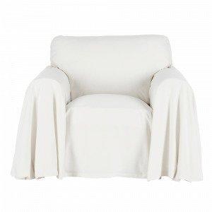 Ellos Odessa Irtopäällinen Nojatuoliin Puuvillakambrikkia Valkoinen