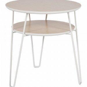 Ellos Pikkupöytä Valkoinen Ø 50 Cm