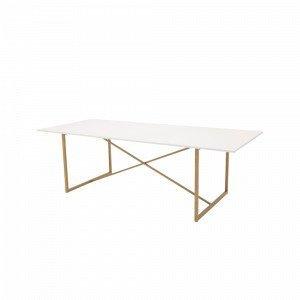 Ellos Pinner Ruokapöytä Valkoinen 100x240 Cm