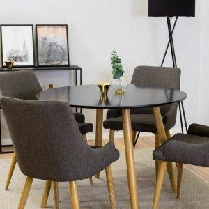 Ellos Plaza Ruokaryhmä Jossa Pöytä Ja 4 Tuolia Monivärinen