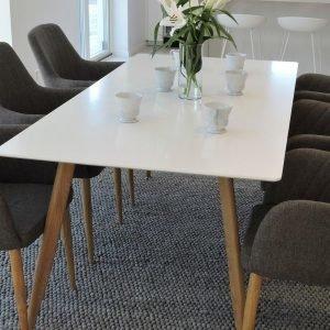 Ellos Polar Pöytä Ja 6 Comfort Tuolia Ruokaryhmä Monivärinen