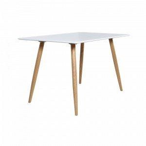 Ellos Polar Pöytä Valkoinen 80x120 Cm