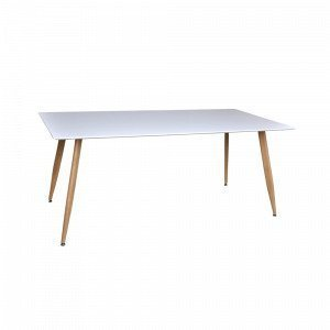 Ellos Polar Pöytä Valkoinen 90x180 Cm