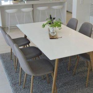 Ellos Polar Ruokaryhmä Jossa Pöytä Ja 6 Tuolia Monivärinen