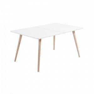 Ellos Quatre Pöytä Punainen 160-260x100 Cm