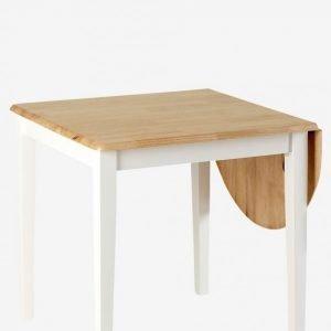 Ellos Ruokapöytä Pyöreä Klaffi 75x75 + 40 Cm