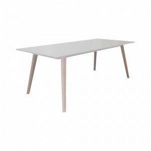 Ellos Stellan Ruokapöytä Valkoinen 95x200 Cm