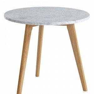 Ellos Stone Marmoripöytä Korkeus Valkoinen 45 Cm