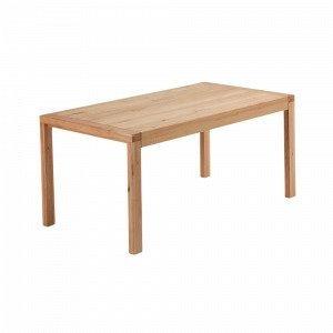 Ellos Vivy Ruokapöytä Luonnonvärinen 90x180+50 Cm