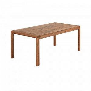 Ellos Vivy Ruokapöytä Ruskea 90x180+50 Cm