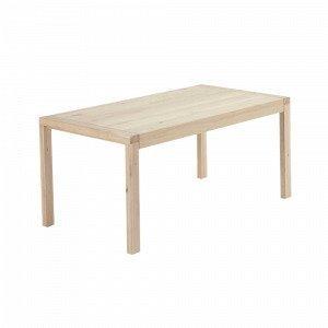 Ellos Vivy Ruokapöytä Valkoinen 100x200+80 Cm
