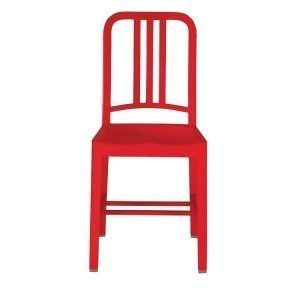 Emeco 111 Navy Chair Tuoli Red