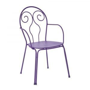 Emu Caprera Tuoli Käsinojilla Violetti