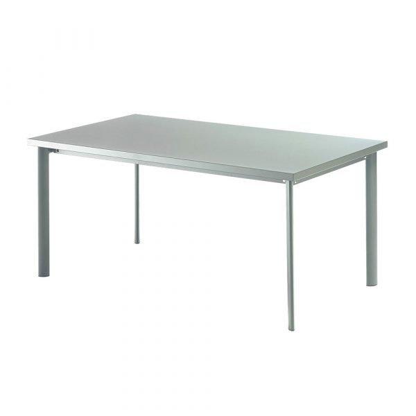 Emu Star Puutarhapöytä Hopea 160x90 Cm