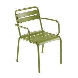 Emu Star Tuoli Käsinojilla Vihreä