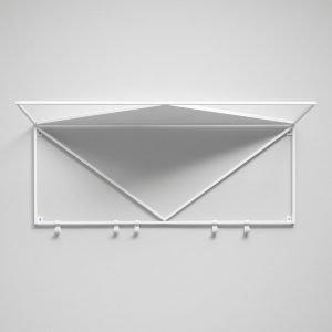 Essem Design Minimalisten Hattuhylly Valkoinen 80 Cm