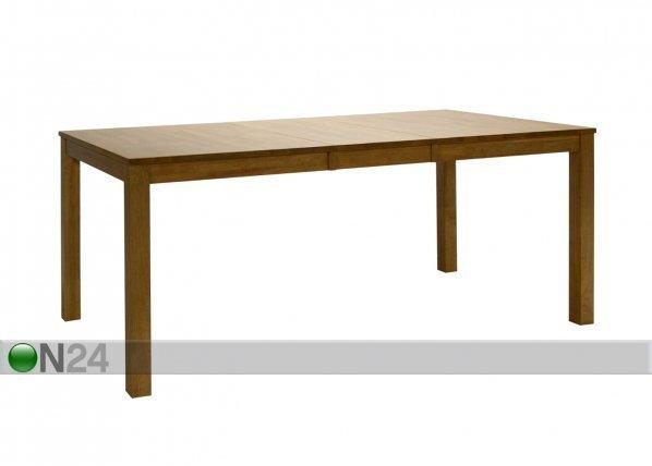 Ev Jatkettava Ruokapöytä Cairo 90x140+40 Cm