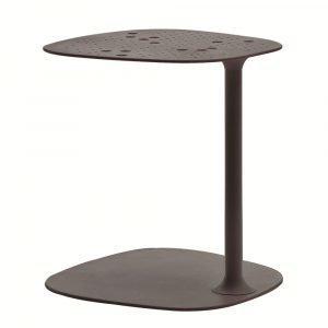 Fast Design Aikana Sivupöytä Harmaa Metallic H42 Cm