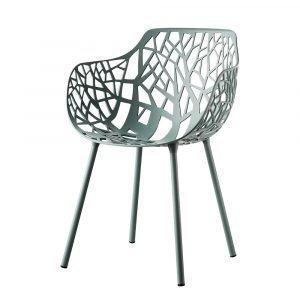 Fast Design Forest Käsinojallinen Tuoli Vaaleansininen