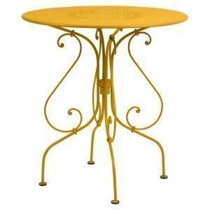 Fermob 1900 Pöytä Honey Ø67 Cm