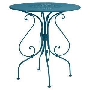 Fermob 1900 Pöytä Turquoise Ø67 Cm