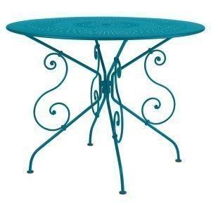 Fermob 1900 Pöytä Turquoise Ø96 Cm