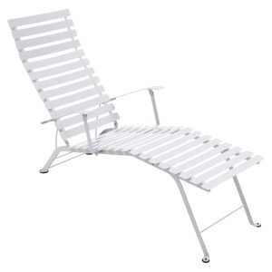 Fermob Bistro Chaise Longue Aurinkotuoli Cotton White