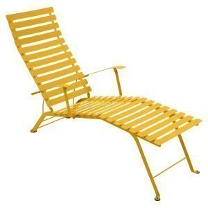 Fermob Bistro Chaise Longue Aurinkotuoli Honey