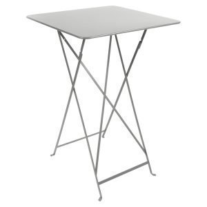 Fermob Bistro High Pöytä Steel Grey 71x71 Cm