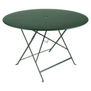 Fermob Bistro Pöytä Cedar Green Ø117 Cm