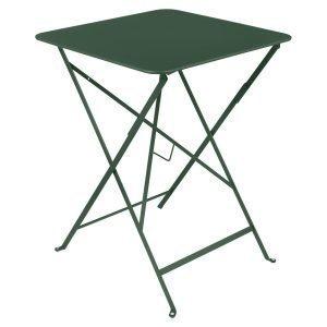 Fermob Bistro Pöytä Cedar Green 57x57 Cm