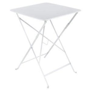 Fermob Bistro Pöytä Cotton White 57x57 Cm