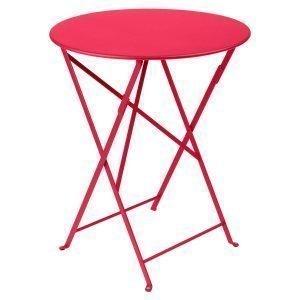 Fermob Bistro Pöytä Pink Praline Ø60 Cm